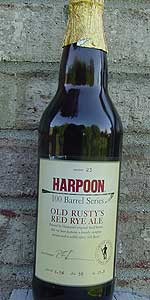Harpoon 100 Barrel Series #23 - Old Rusty's Red Rye Ale
