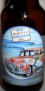 Green Flash Surf's Up Symposium IPA