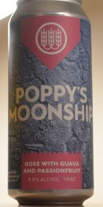 Poppy's Moonship on Guava and Passionfruit