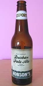 Robson's Durban Pale Ale