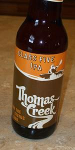 Thomas Creek Class Five IPA