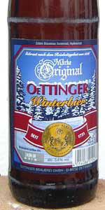 Original Oettinger Winterbier