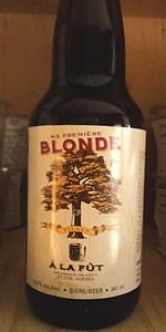 Ma Première Blonde
