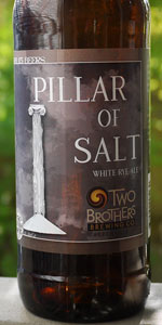 Pillar Of Salt White Rye Ale