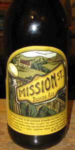 Mission St. Blonde Ale