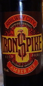 Railway City Iron Spike - Amber Ale