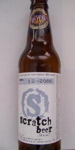 Scratch Beer 12 - 2008