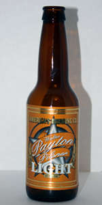 Walter Payton Pilsner Light