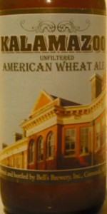 Kalamazoo Unfiltered American Wheat Ale