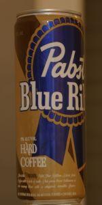 Pabst Blue Ribbon Hard Coffee
