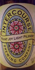 Mount Joy Light Pilsner