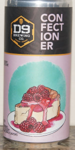 Confectioner Series 003: Raspberry Cheesecake Ale