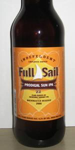 Prodigal Sun IPA (Brewmaster Reserve)