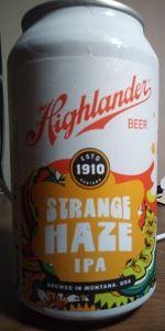 Highlander Strange Haze IPA