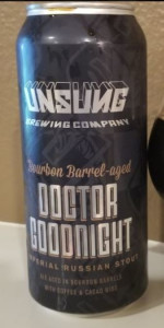 Dr. Goodnight - Bourbon Barrel-Aged With Cacao Nibs And Coffee