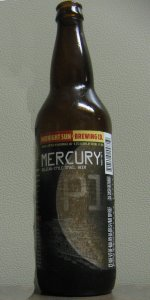 Mercury - Belgian-Style Small Beer