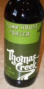 Thomas Creek Pump House Porter