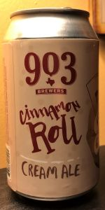 Down With The Pastryarchy - Cinnamon Roll Cream Ale