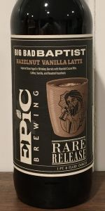 Big Bad Baptist - Hazelnut Vanilla Latte