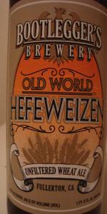 Old World Hefeweizen