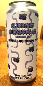 Blueberry Milkshake IPA