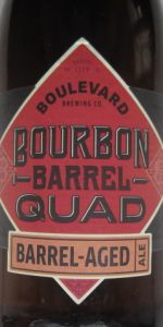 Bourbon Barrel Quad Barrel-Aged Ale (BBQ)