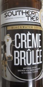 Crème Brûlée Imperial Milk Stout (Blackwater Series)