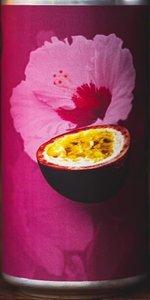 Passion Fruit & Hibiscus Tart