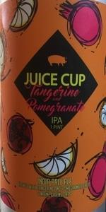 Juice Cup - Tangerine & Pomegranate