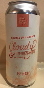 Cloudy & Cumbersome - Peach (Double Dry Hopped)
