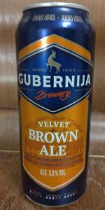 Velvet Brown Ale