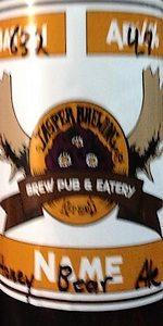 Honey Bear Golden Ale