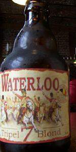 Waterloo Tripel 7 Blond