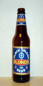 Block Island Blonde Lager Beer