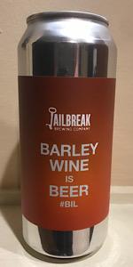 Barleywine Is Beer