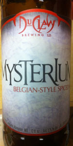 Mysterium Belgian-style Spiced Ale
