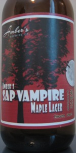 Sap Vampire Maple Lager