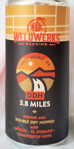 3.8 Miles (Double Dry-Hopped)