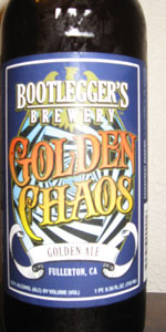 Golden Chaos Golden Ale