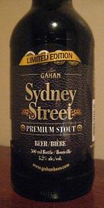 Gahan House Sydney Street Stout