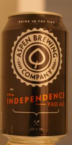 Independence Pass Ale I.P.A.