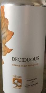 Deciduous Double India Pale Ale