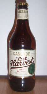 Cascade First Harvest Ale