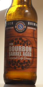 Bourbon Barrel Aged Imperial Cafe Brown