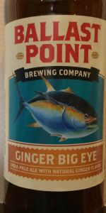 Ginger Big Eye IPA