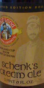 Highland Schenk's Cream Ale