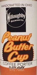 Willoughby Peanut Butter Cup Coffee Porter