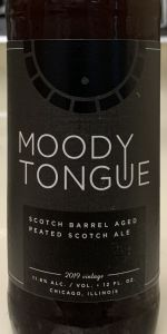 Scotch Barrel Aged Peated Scotch Ale