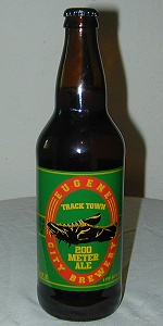 Eugene City Brewery Track Town 200 Meter Ale