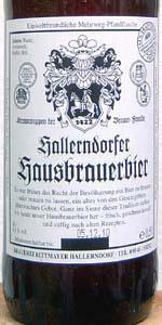 Hallerndorfer Hausbrauerbier